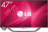 LG 47LA6928 - 3D Led-tv - 47 inch - Full HD - Smart tv