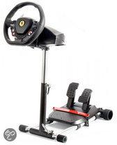 Wheel Stand Pro voor Thrustmaster T100/T80/F458/F430/RGT Race  stuur Kleur Zwart - V2 (Zonder Stuur en pedalen)