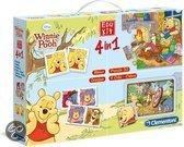 Clementoni Edukit 4 in 1 - Winnie the Pooh