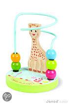 Sophie de Giraf houten kralenspiraal