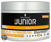 Junior Powerstyling Style 'N Freeze L5 - 200 ml - Gel