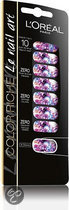 L'Oreal Paris Color Riche Nail Art 031 Ms Pop TyeDie Rocks - Nagelstickers