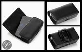 Lelycase Draagtas/Riemtas Hoesje Horizontaal Case Voor Nokia Lumia 820 Zwart