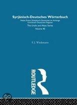 Syrjanisch-Deutches Worterbuch
