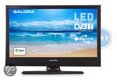 Salora 19LED8005TD - Led-tv-/dvd-combo - 19 inch - HD-ready - Zwart