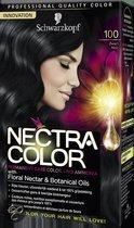 Schwarzkopf Nectra Color 100 Zwart - Haarkleuring