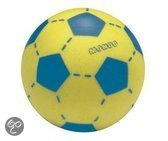 Game on sport Soft voetbal 200gr blauw