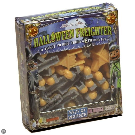 Ticket To Ride Halloween Freighter - Uitbreiding