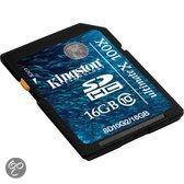 Kingston SD kaart 16 GB
