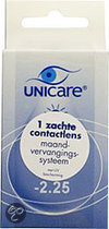 Unicare Maand -2.25 - 1 st - Contactlenzen