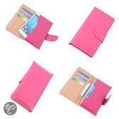 BestCases Pink Portemonnee Telefoon Hoesje Galaxy S4 mini i9190