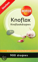 Roter Knoflox Dragees - 900 Dragees