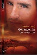 Gevangen in de woestijn - Een uitgave van Harlequin Black Rose - romantische thriller