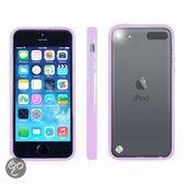 Apple iPod Touch 5 Hoesje Bumper case met achterkant Paars Purple