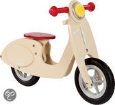 Janod Houten Loopfiets - Scooter Vanilla