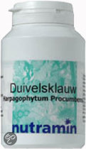 Nutramin Duivelsklauw 250 mg Capsules 180 st