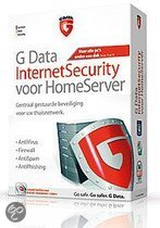 G Data InternetSecurity voor HomeServer - Engels