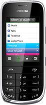 Nokia Asha 203 - Zwart - KPN prepaid telefoon