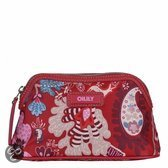 Oilily Winter Leafs S Pouch (ruby)