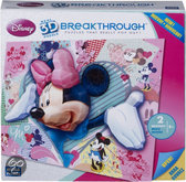 Mega puzzles 3d puzzel breaktrough - minnie mouse level 2