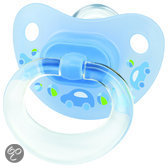 NUK Classic - Orthodontische Fopspeen Happy Days S2 - Blauw