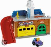 Fisher-Price Little People Wheelies Stow 'n Tow Garage
