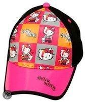 Sanrio Hello kitty cap zwart maat 52/54