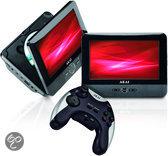 Akai APD712TG - Portable DVD-speler met 2 schermen - 7 inch - Zwart