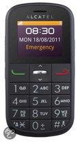 Alcatel One Touch 282 Senioren mobiel - Zwart