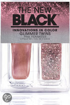 The New Black Glimmer Twins -Pink Prankster - Nagellak