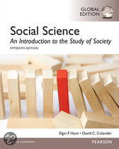 Social Science: An Introduction to the Study of Society, Global Edition
