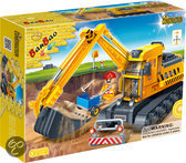 BanBao Constructie Graafmachine - 8536