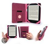 Embrace Plus & Stand case cover for e-readers compatible with Kobo Aura HD (with sleep mode) - roze