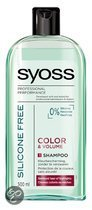 Syoss Shampoo Sillicone Free Colour &Volume
