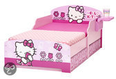 Hello Kitty Junior Bed met Lades - Kinderbed