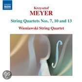Meyer: String Quartets 3