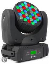 Beamz MHL-363 16-Kanaals Moving Head Spot 36x 3W RGBW LED's DMX Home entertainment - Accessoires