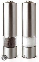 AdHoc Elektrische Peper- & Zoutmolen - RVS - 2 stuks