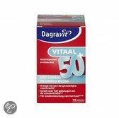 Dagravit vitaal 50+ vit.d 250 st
