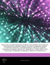 Articles on Vacuum Cleaner Manufacturers, Including