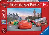 Ravensburger Cars McQueen en z´n vrienden - Puzzels 2 x 12 stukjes