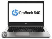 HP ProBook 640 i3-4000M 14.0 4GB/500 PCCore i3-4000M. 14.0 HD AG LED SVA. UMA.4GB DDR3 RAM. 500GB HDD. DVD+/-RW. 802.11 a/b/g/n. BT. 6C Battery. FPR. Win 7 PR