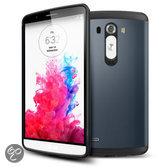 LG Optimus G3 TPU cover, case, hoesje, frontje Donker blauw