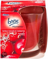 Brise Moments Kaars Pomegranate & Cranberries - 1 st