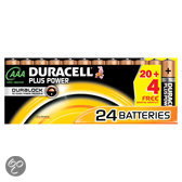 Duracell Plus Power           AAA 20er+4
