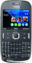 Nokia Asha 302 - Grijs - T-Mobile prepaid telefoon