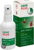 Care Plus Anti-insecten - Deet 40 % - 60 ml - Kledingspray