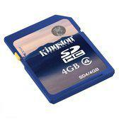 Kingston Secure Digital Card High-Capacity 4GB  (Retail)