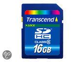 Transcend Standard SD kaart 16 GB