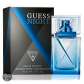 Guess Night for Men- 50 ml - Eau de toilette